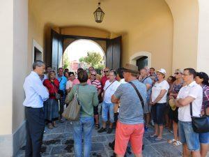 Dobrodošlicu nam je poželeo gospodin Filippo Morese, vlasnik farme