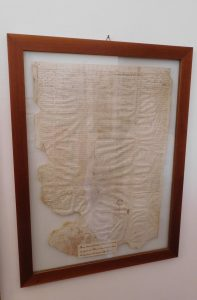 Ugovor o kupovini imovine iz 1694. godine