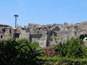 Ostaci drevnog grada Pompeji